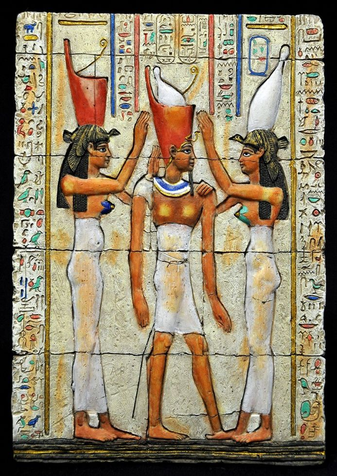 Egypt Unified. Ancient Egyptian Pharaoh Art Print/Poster (3416)